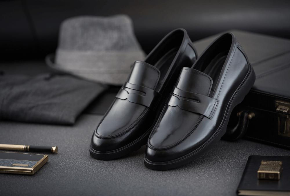 Loafer Shoes - Black